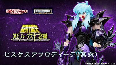 "Myth EX Pisces Aphrodite Specter de ""Saint Seiya"" - Tamashii Nations"