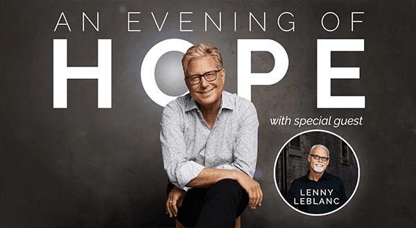 """DON MOEN ANNOUNCES """"AN EVENING OF HOPE"""" (LIVESTREAM EVENT)"""