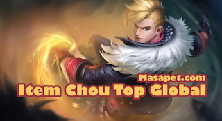 Build Gear Item Chou Mobile Legends Top Global