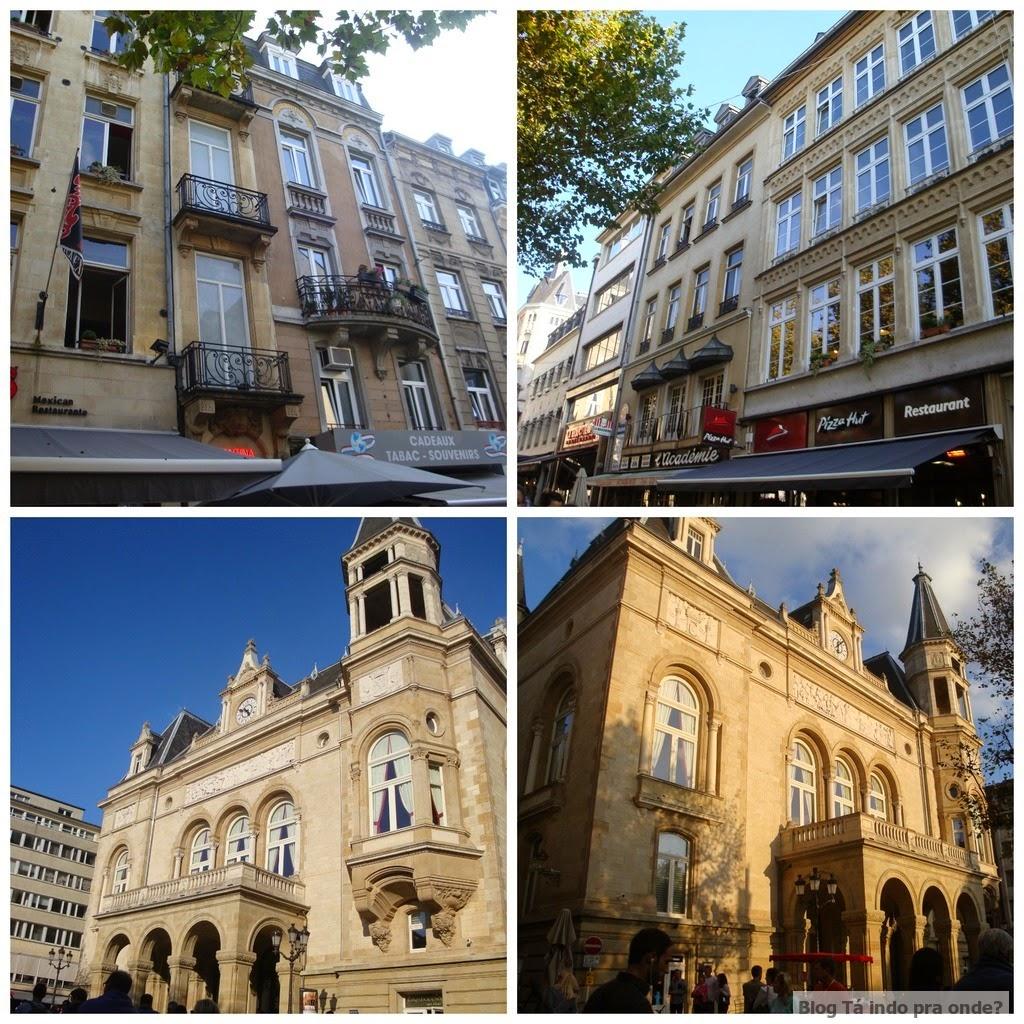 Place d´Armes em Luxemburgo