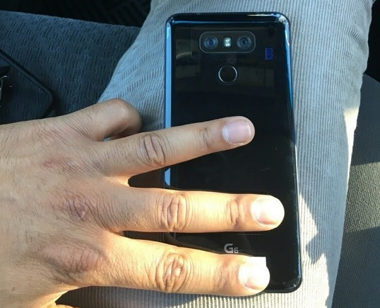 LG G6 New Image Leak Shows Near-Final Version with Shiny Black Finish