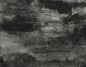 Abstract gray watercolor