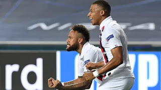 PSG avança na Champions League com gols aos 45 e 48 minutos do 2º tempo