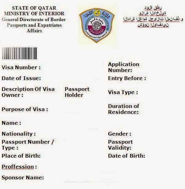 Document Required For Apply Family Visit Visa