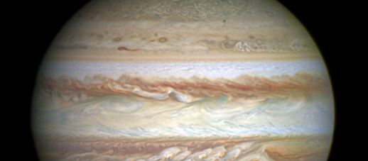 NASA Finds Water Vapor on Jupiter's Moon Ganymede for the First Time