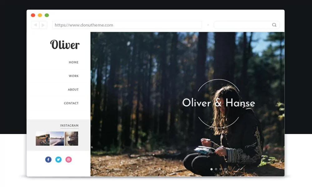 Oliver Responsive Blogger Template