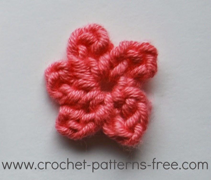 Small Crochet Flower Patterns (Free Crochet Patterns) | Free Crochet ...