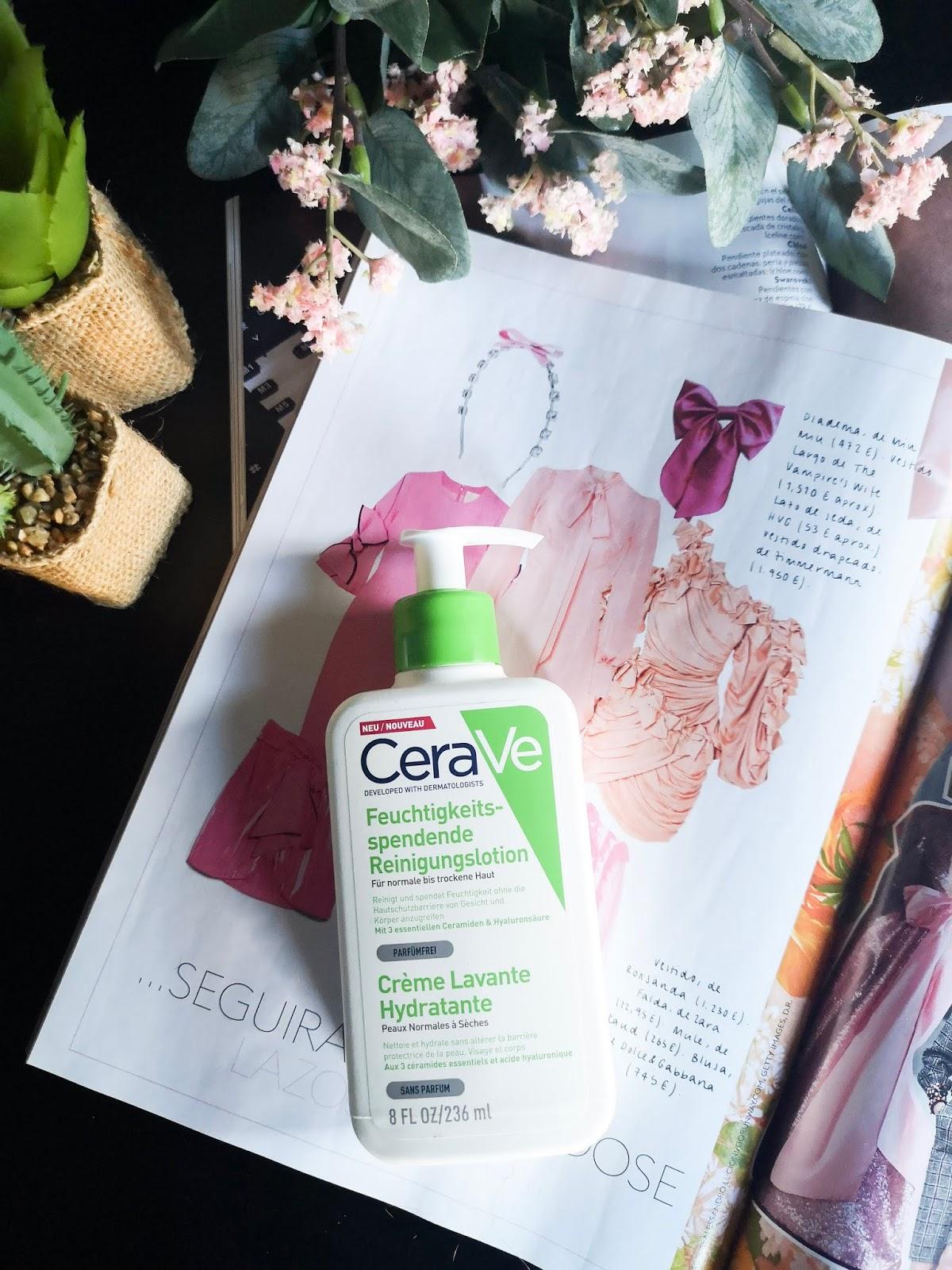 Gel limpiador hidratante de Cerave