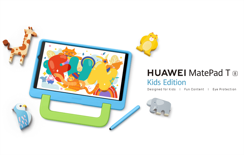 5 best features of the Huawei MatePad T8 Kids Edition