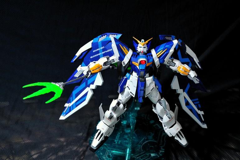 Custom Build: 1/100 White-Nataku / Epyon Bai - Gundam Kits ...