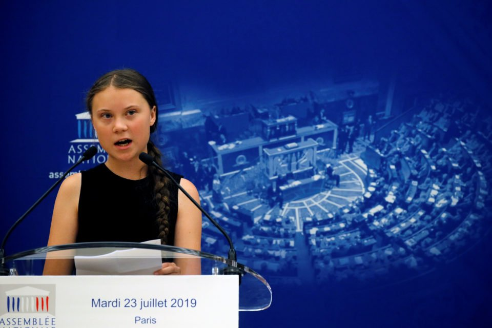 Macron Criticises Thunberg Over Action At Un Against France