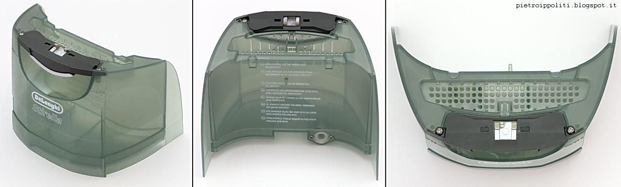 De Longhi Stirella VVX2370 DualVap, serbatoio