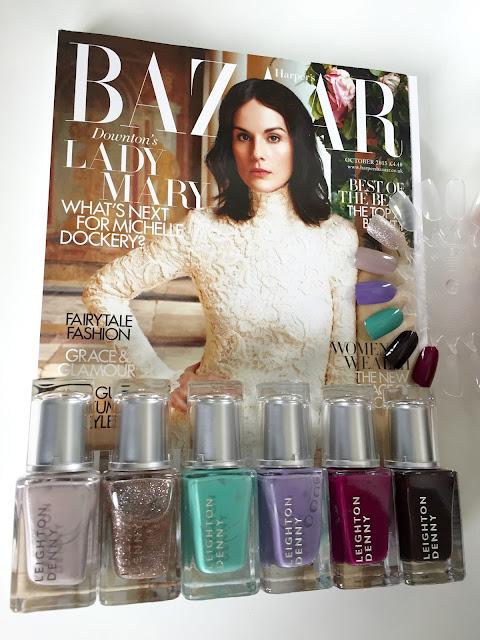 Leighton Denny Nail polish Harper's Bazaar Magazine