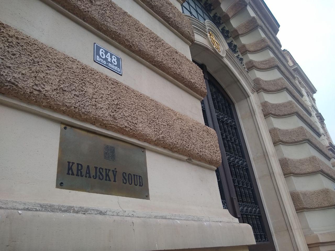 Případ projednával Krajský soud v Brně. Foto: Sára Jeschkeová