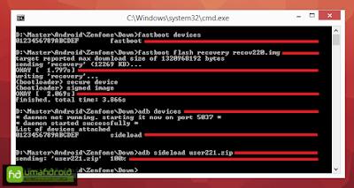 Tutorial Cara Downgrade ASUS Zenfone 5