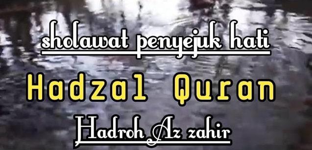 Lirik Hadzal Qur'anu