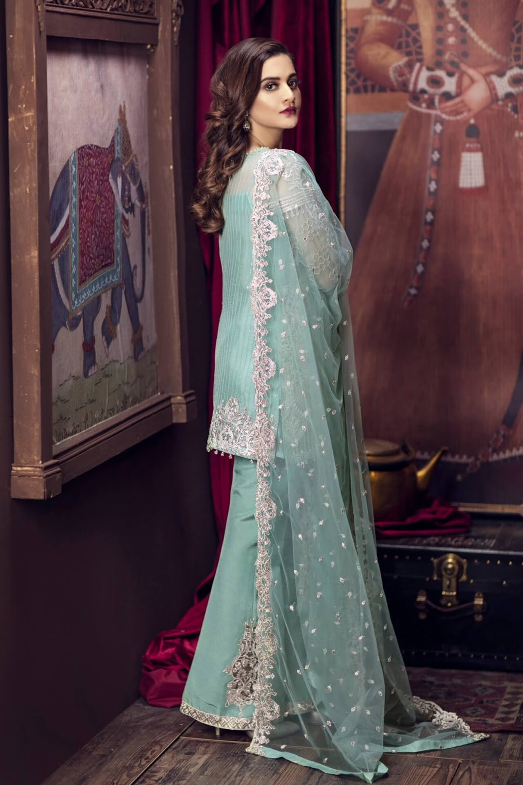 Pakistani Suits Wholesaler Delhi India: IMROZIA CHIFFON