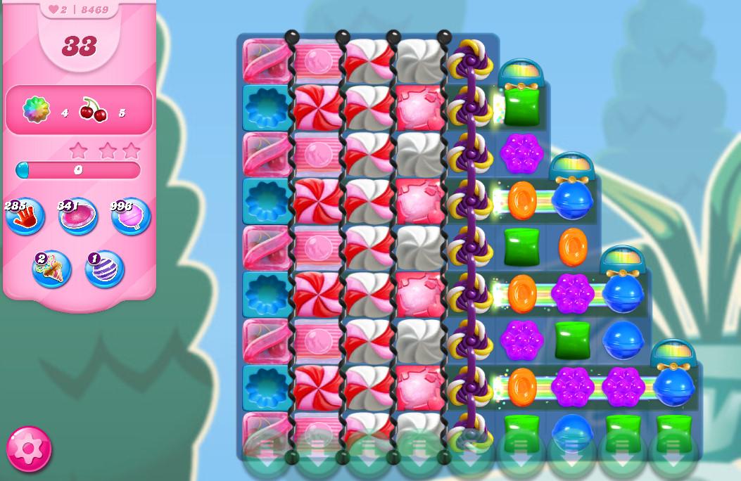 Candy Crush Saga level 8469