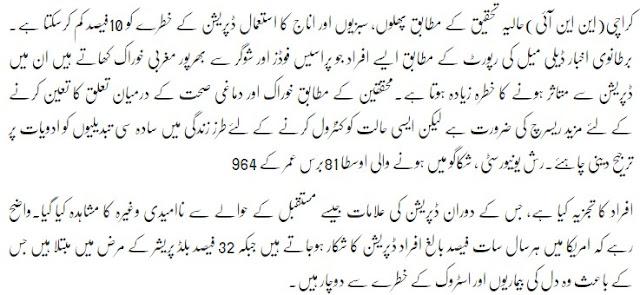 disadvantages of junk food in urdu