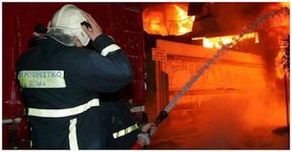 Συναγερμός για φωτιά και φόβοι για εγκλωβισμένους στην Πάτρα!