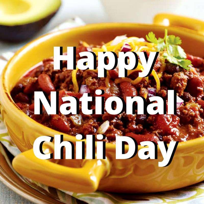 National Chili Day Wishes Beautiful Image