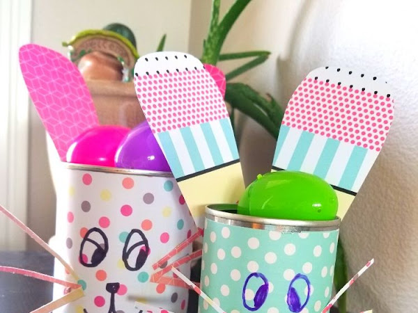 Quick Preschool Bunny Craft Tutorial