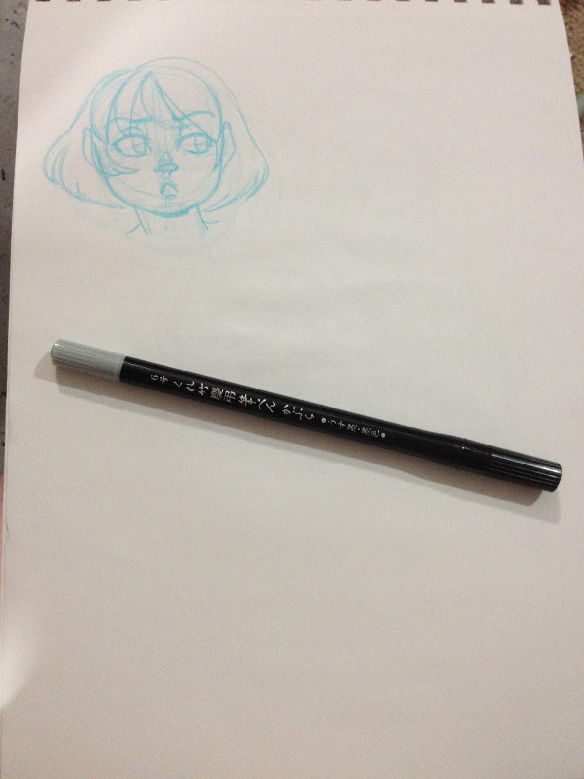 kuretake brush pen instructions