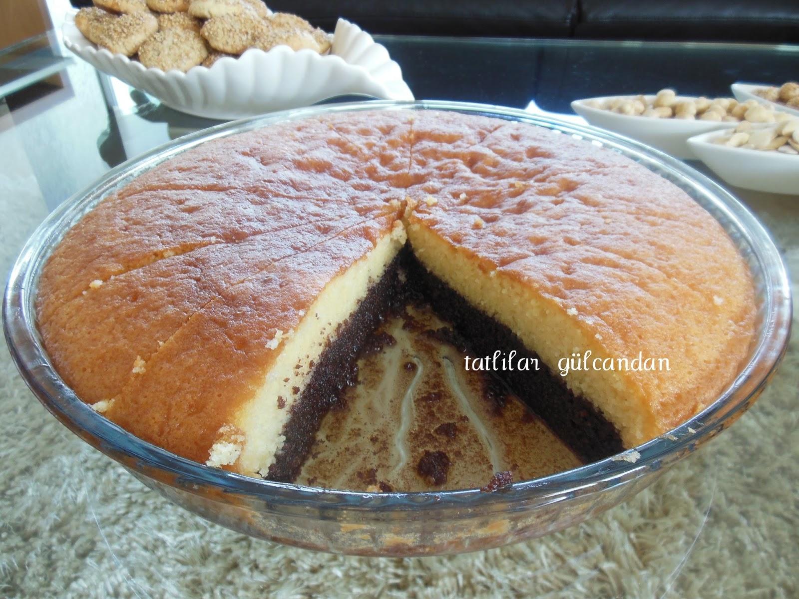 Çikolatalı Revani Tarifi – Şerbetli Tatlı Tarifleri