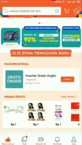 Voucher Gratis Ongkir Shopee Untuk Pengguna Baru Tidak Bisa Digunakan-1