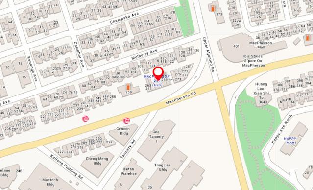 Macpherson 261 Location