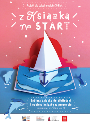Z książką na start, czyli zaproszenie przedszkolaków do czytania