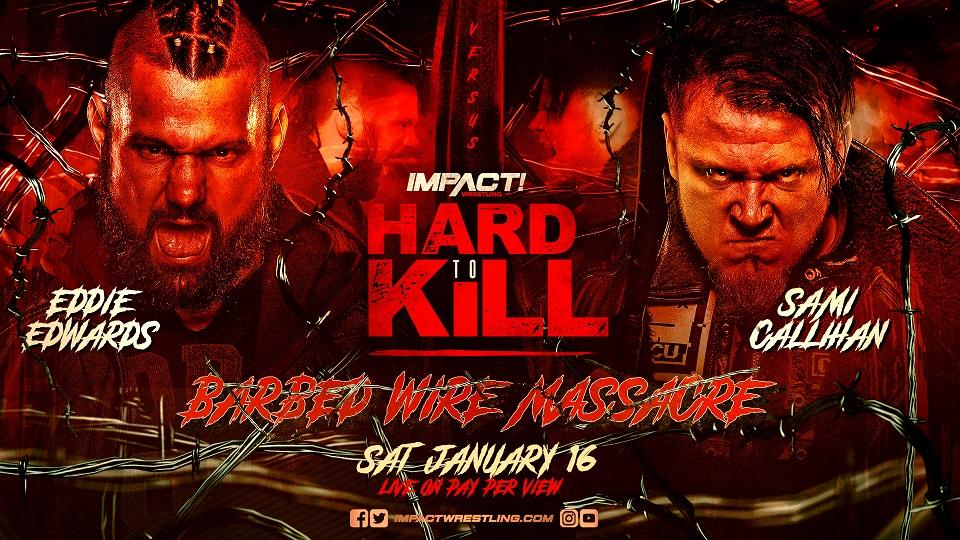 Barbed Wire Massacre anunciado para o IMPACT Hard to Kill