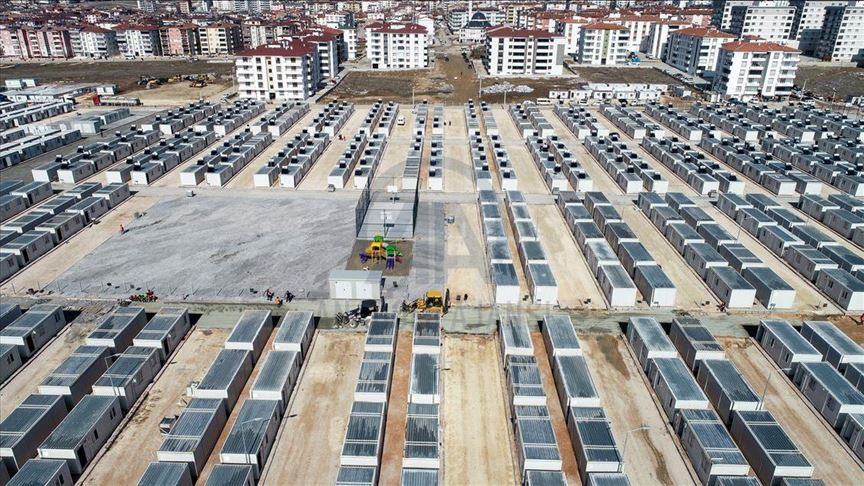 Gerak Cepat, Turki Bangun 'Kota Kontainer' Untuk Korban Gempa