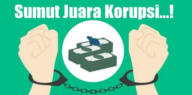 Sumut, Daerah Paling Anti-Korupsi