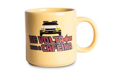 Caneca De Volta para a Cafeína - Trás