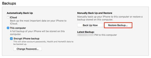 نقل البيانات من ايفون لايفون بستخدام iTunes