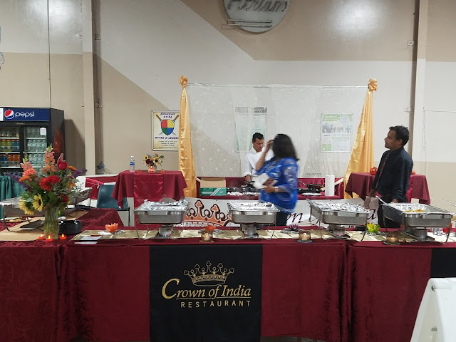 Crown Of India Restaurant at The Luxe Show for Indian Brides