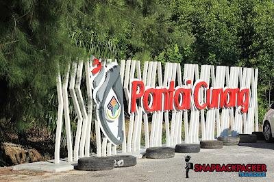 Signboard Pantai Cunang