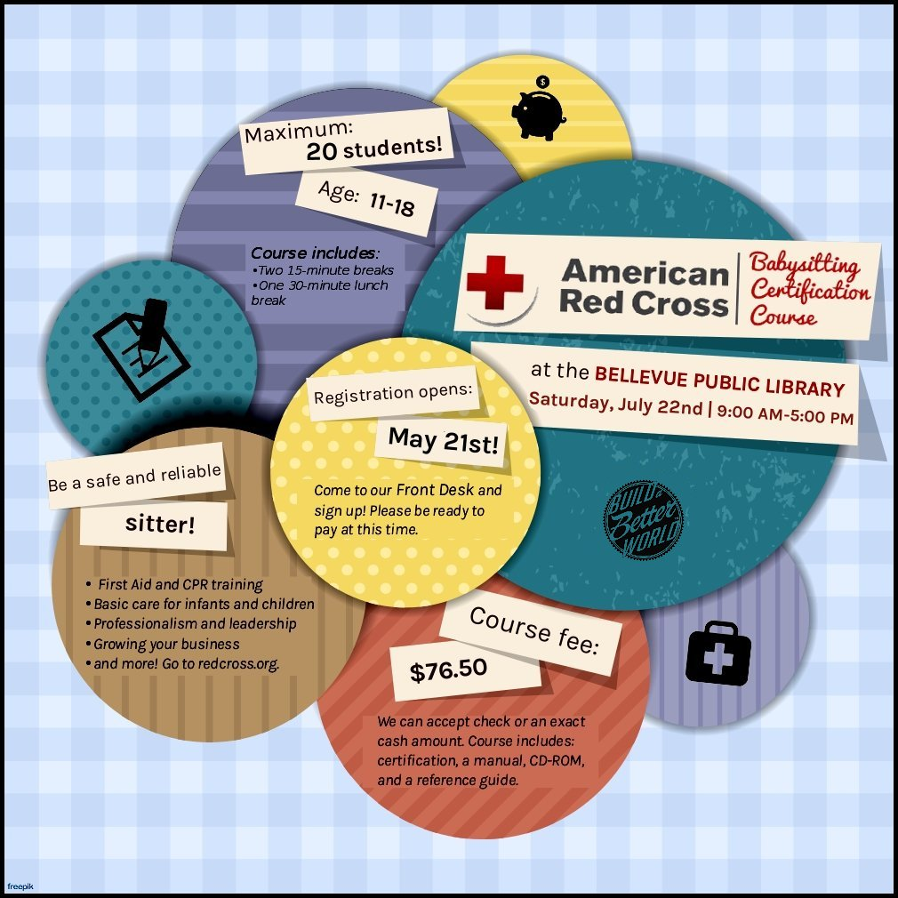 Registration now open red cross babysitting certification registration now open red cross babysitting certification workshop xflitez Images