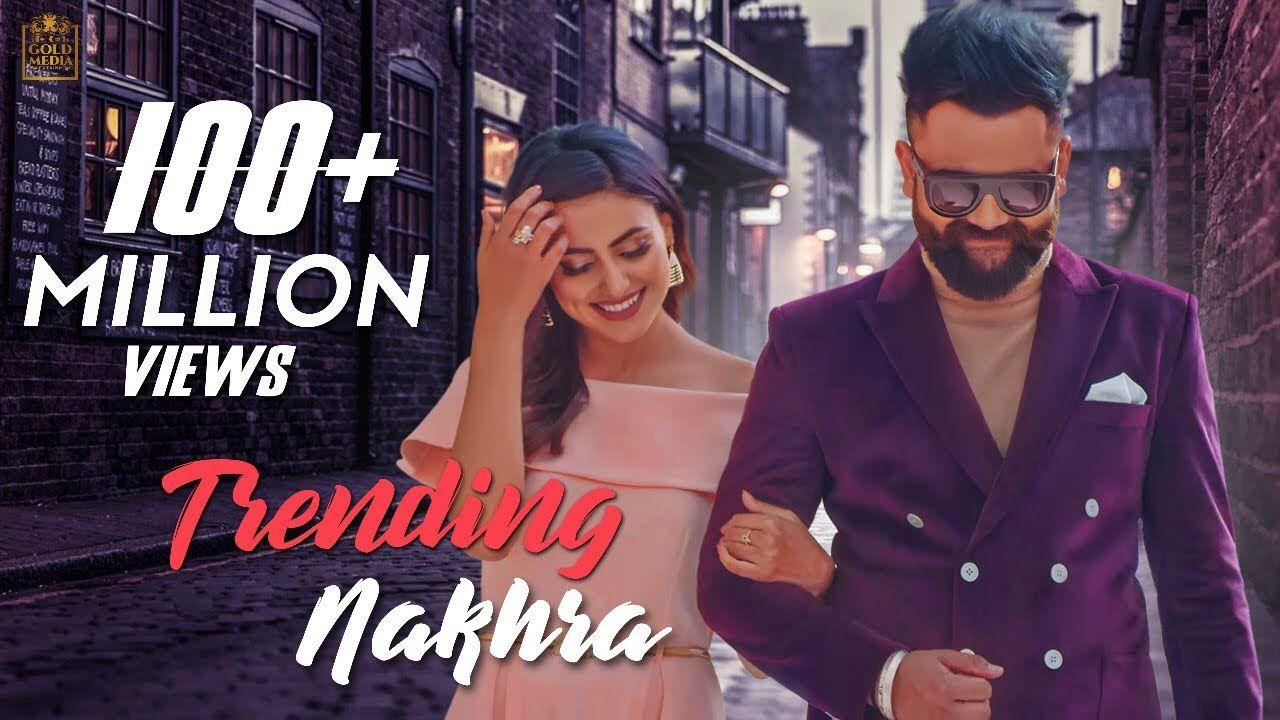 trending-nakhra-hindi-lyrics-amrit-maan