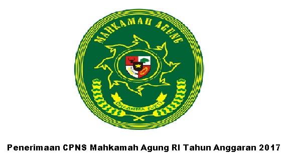 Rekrutmen CPNS Mahkamah Agung Republik Indonesia