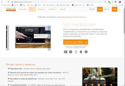 página-web-vlc