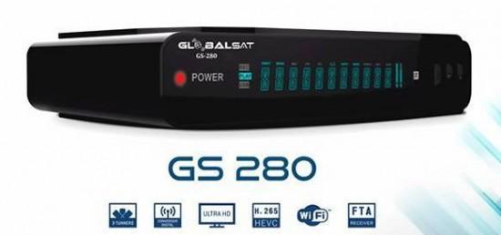 Globalsat GS280 Atualização V1.62 - 15/09/2021