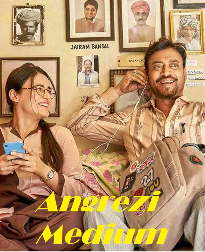 Angrezi Medium 2020 Hindi Movie 720p Pre-DVDRip 1.2GB