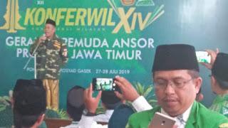 HM Syafiq Syauqi Nahkodai PW GP Ansor Jatim