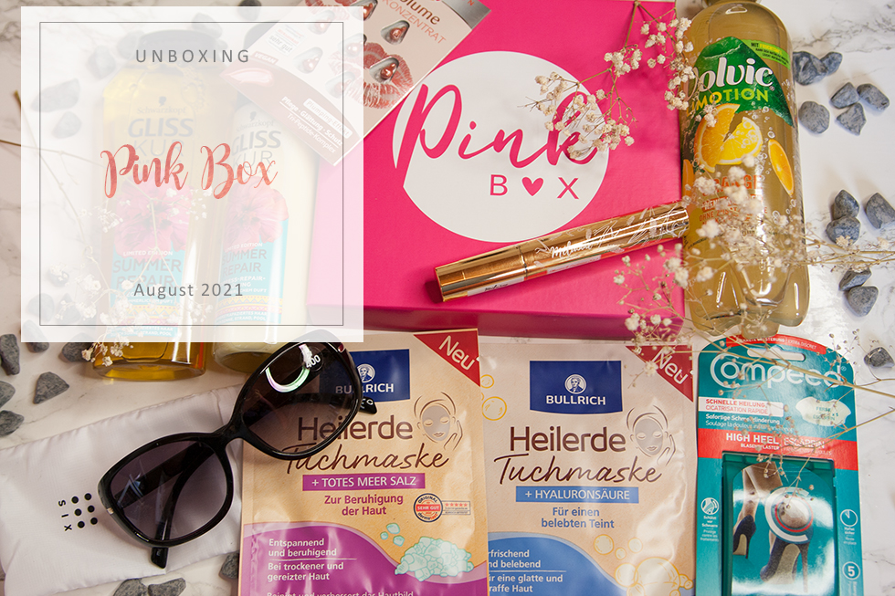 Pink Box - August 2021 - unboxing