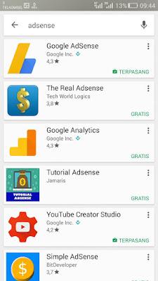 pencarian adsense