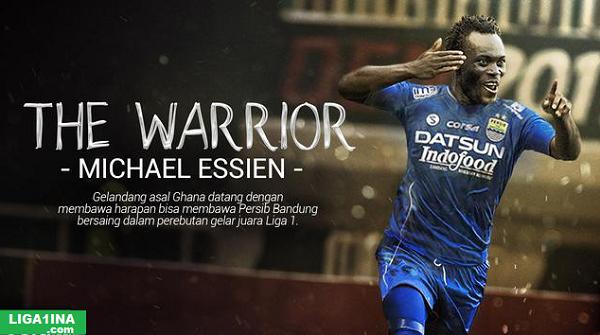 Mengejutkan! Benarkah Michael Essien akan Dilepas Persib Bandung diputaran Kedua?