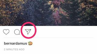 Boton de Share de Instagram
