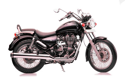 Royal Enfield Thunderbird 350 side view Hd Pictures